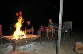 Free wood = big fire