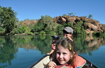 Canoing Lawn Hill Gorge