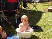 Bath time - Camp style