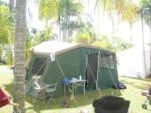 First camper trailer